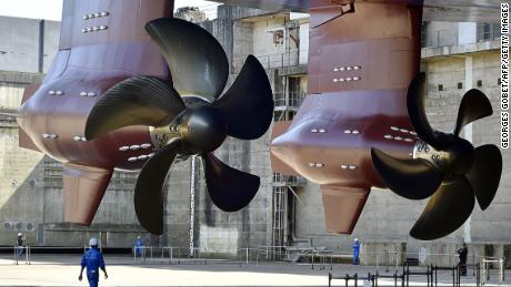 Harmony of the Seas propellers