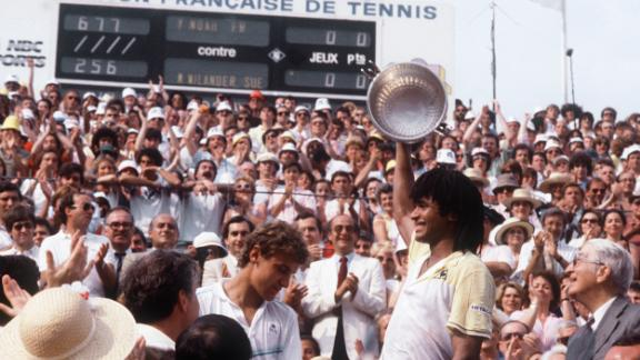 No Frenchman has triumphed on home clay since Yannick Noah in 1983 and the drought continued this year. No French players made the fourth round.