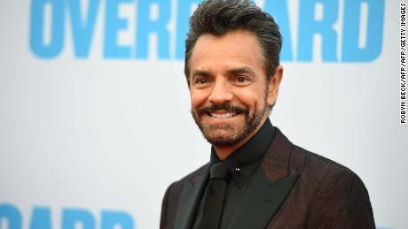 "Actor Eugenio Derbez attends the premiere of ""Overboard,"" April 30, 2018 at the The Regency Village Theatre in Los Angeles, California. (Photo by Robyn Beck / AFP)        (Photo credit should read ROBYN BECK/AFP/Getty Images)"
