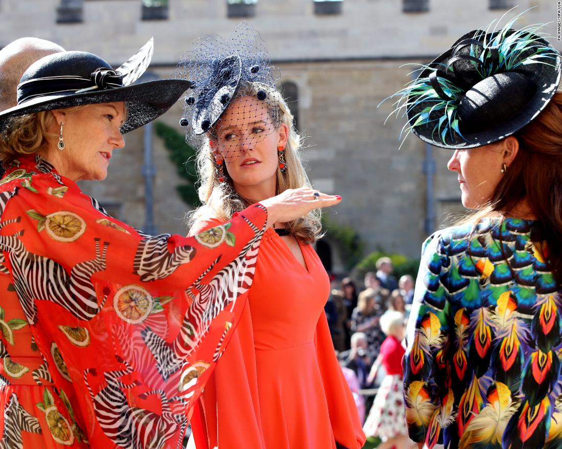 aab172a73e3ae Hats and fascinators at the royal wedding - CNN Style