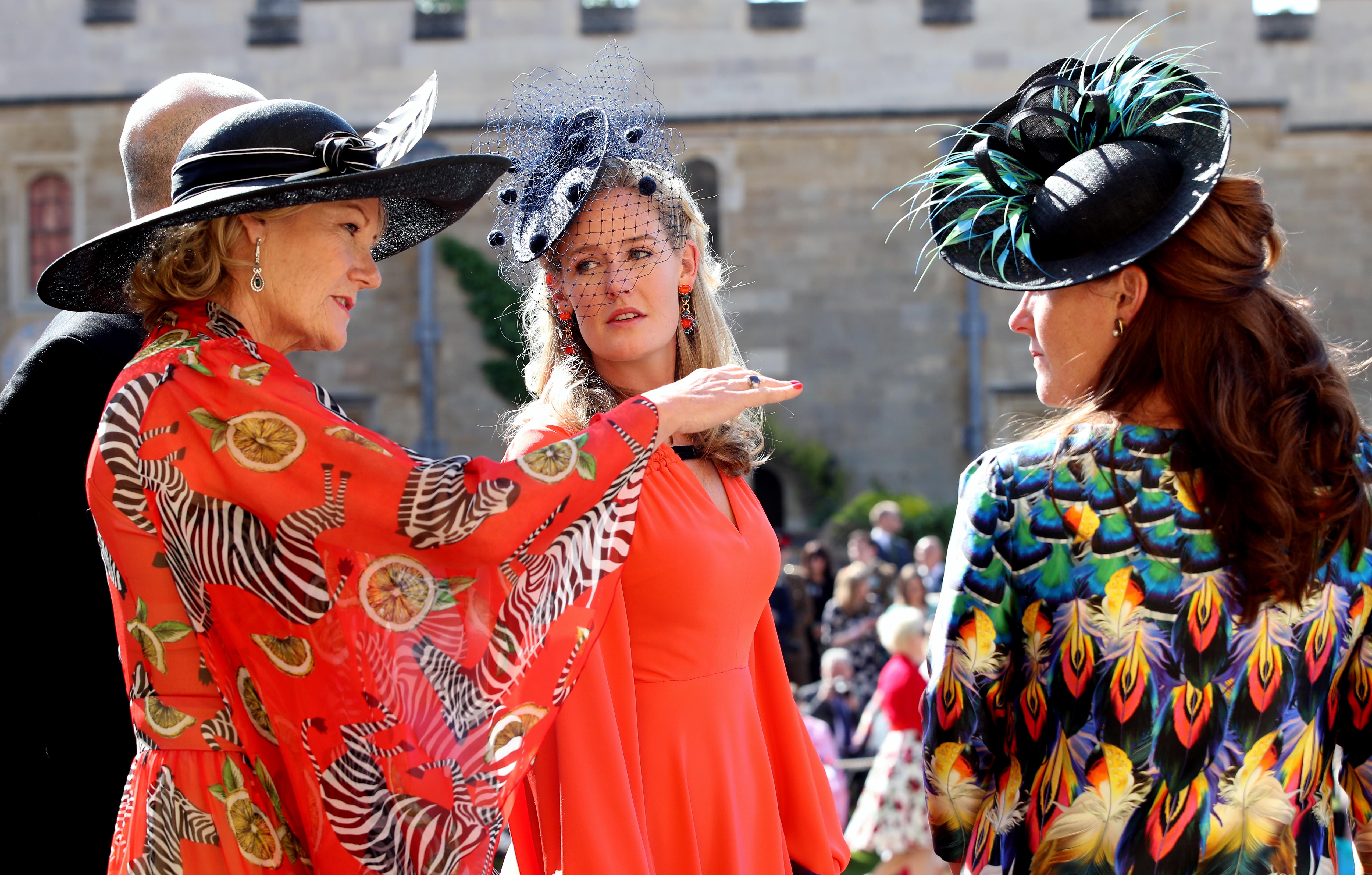 580b03bf Hats and fascinators at the royal wedding - CNN Style