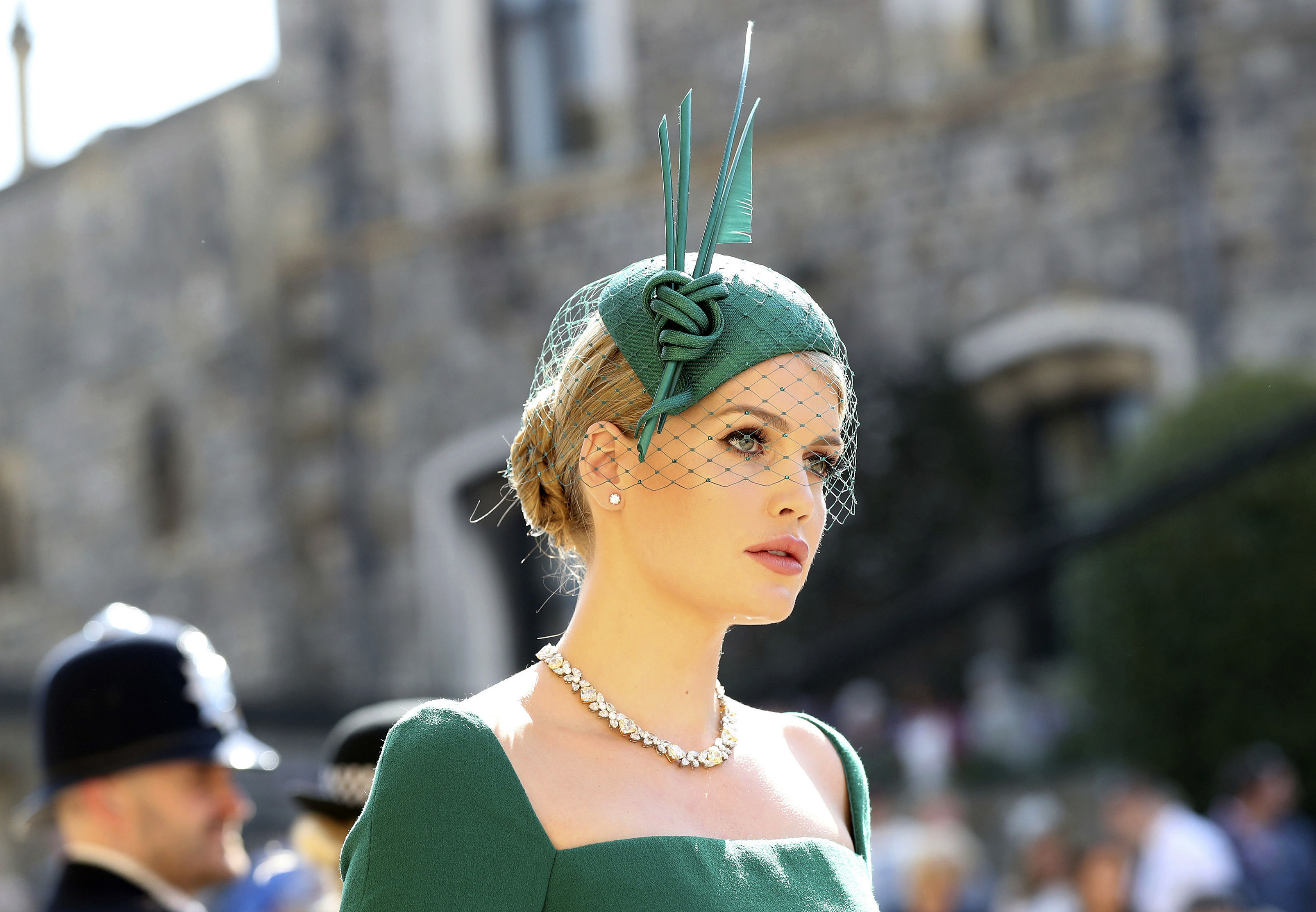 Hats and fascinators at the royal wedding - CNN Style 85cedaa8c6f