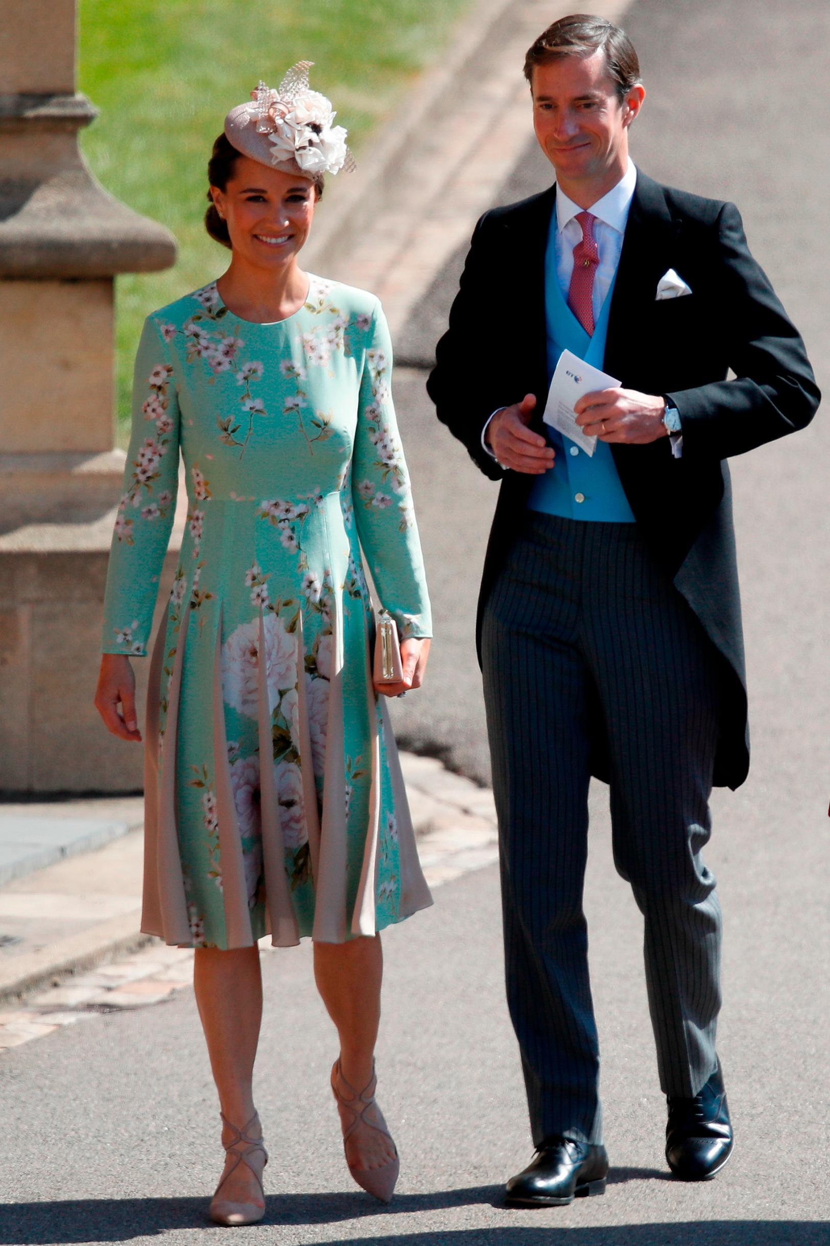 704f17fdb0e13 Wedding guest fashion bold and bright at Windsor - CNN Style