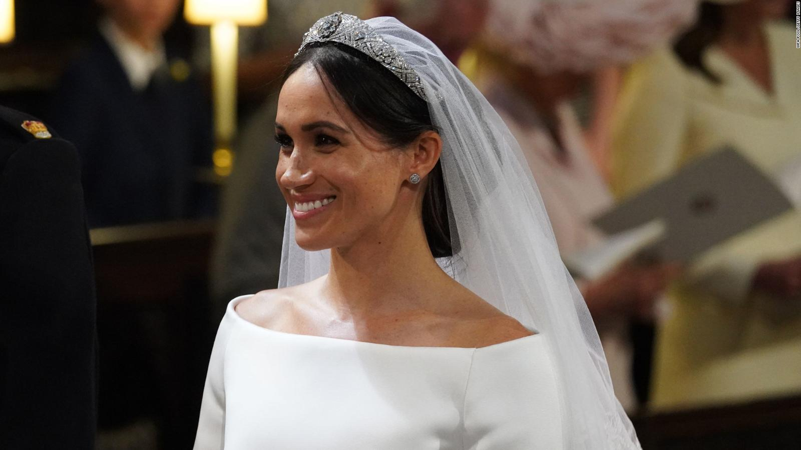 9cbbb5ec776a Meghan Markle s wedding dress is by Givenchy s Clare Waight Keller - CNN  Style