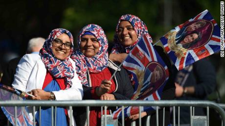 Some of those who headed to Windsor hailed a new age of diversity in the British royal family.