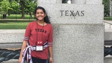Exchange student Sabika Sheikh was a victim of the May 18 shooting at Santa Fe High School.