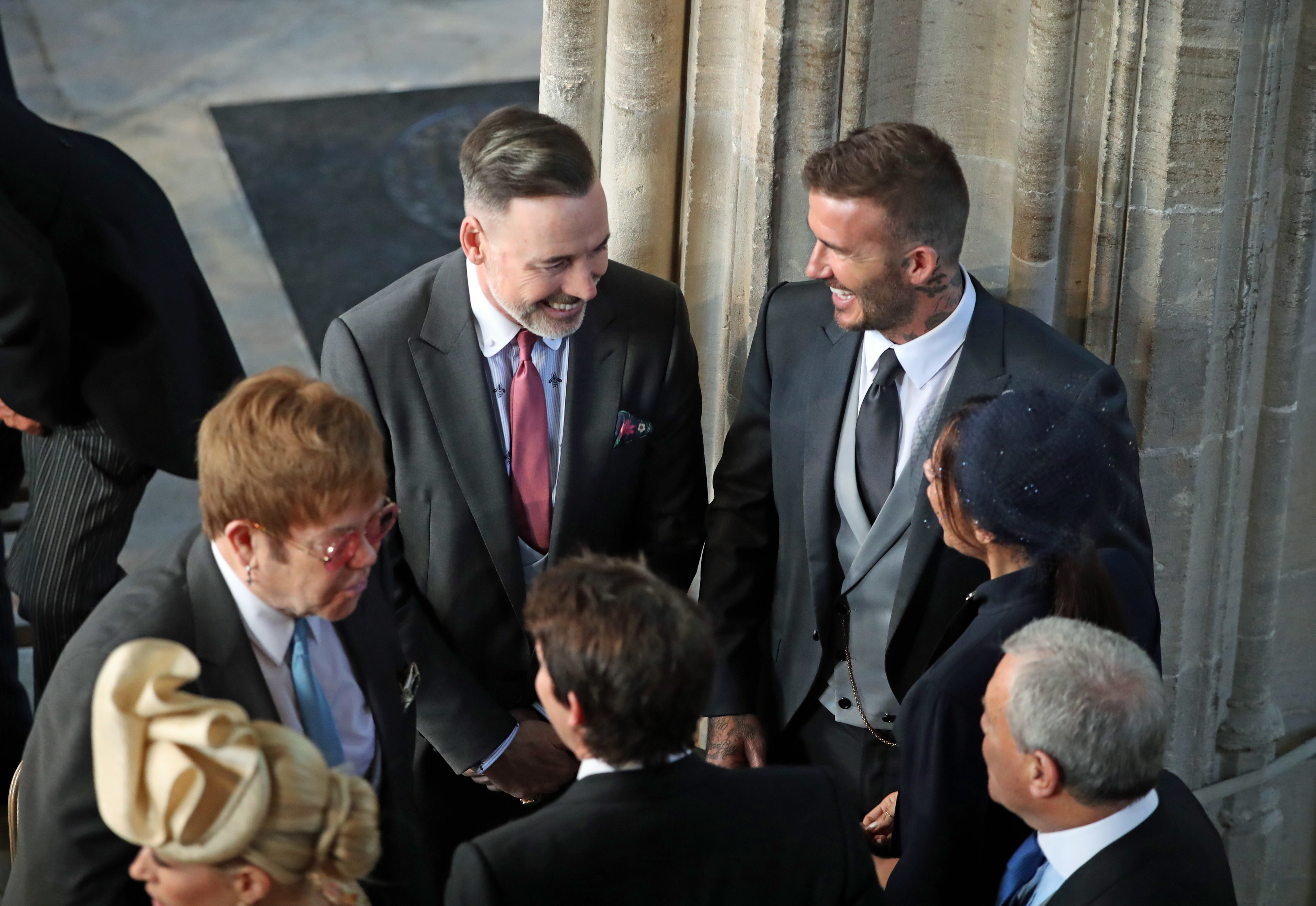 86f83e2c67 See Elton John arrive at royal wedding - CNN Video