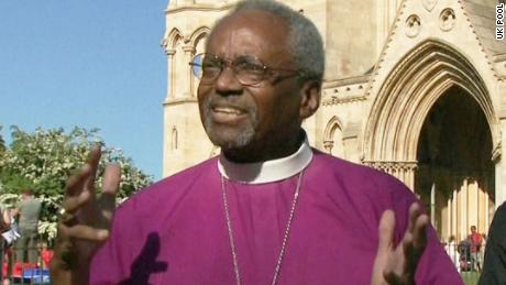 Sky News' Dan Whitehead will conduct the POOL interview with Bishop Michael Curry at 12.15pET.  CNN will get this interview LIVE on RX 584.  For more info contact Laura Perez Maestro