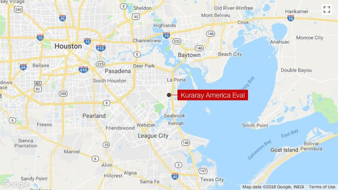 Explosion and fire at plastic fabrication company in Texas leaves 22 injured - C...