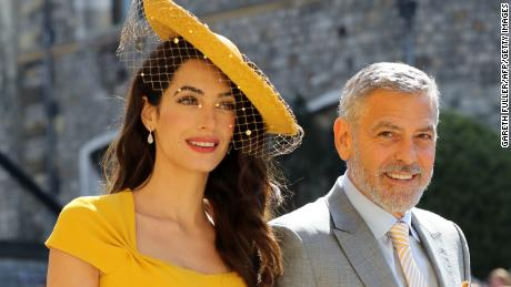 Amal and George Clooney arrive on Saturday.