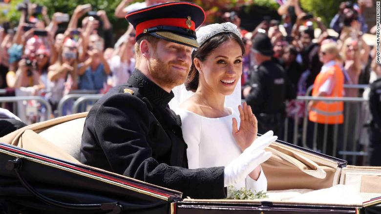 59ee1a6b8ce0e Prince Harry and Meghan Markle marry in trailblazing ceremony - CNN