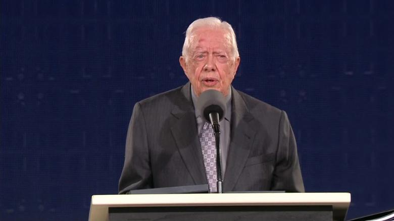 jimmy carter commencement discrimination against women sot _00010925