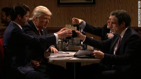 'SNL' hits a comedic nerve with its Trump/Sopranos skit