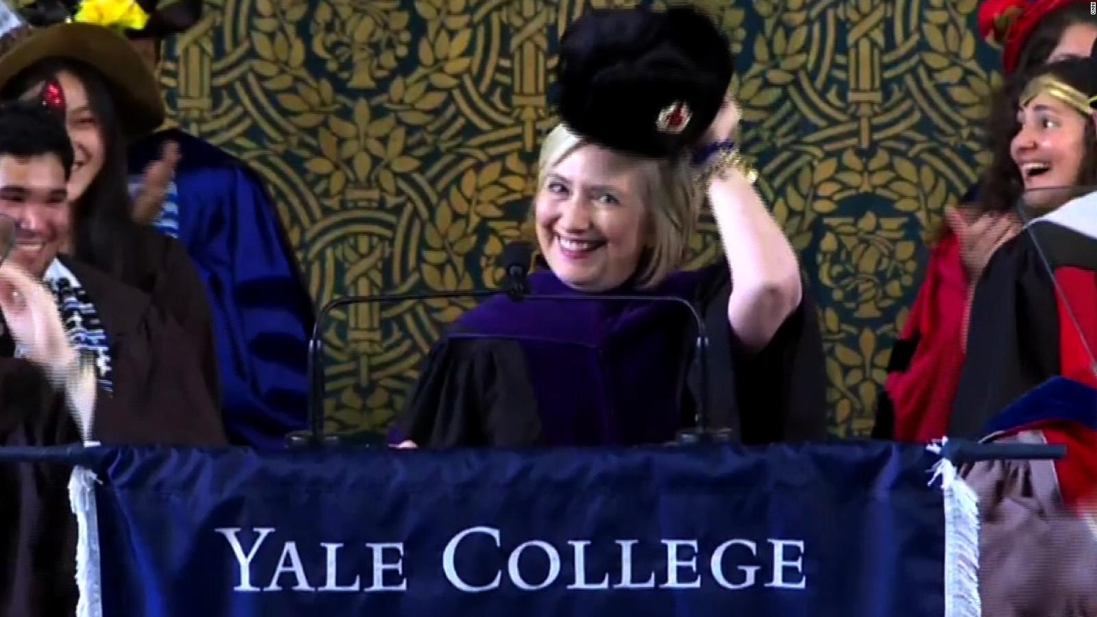 ca0c93fda034b9 Hillary Clinton trolls Trump with Russian hat - CNN Video