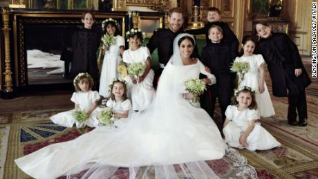 """The Duke and Duchess of Sussex have released three official photographs from their Wedding day. These photographs were taken by photographer Alexi Lubomirski at Windsor Castle, following the carriage procession."""