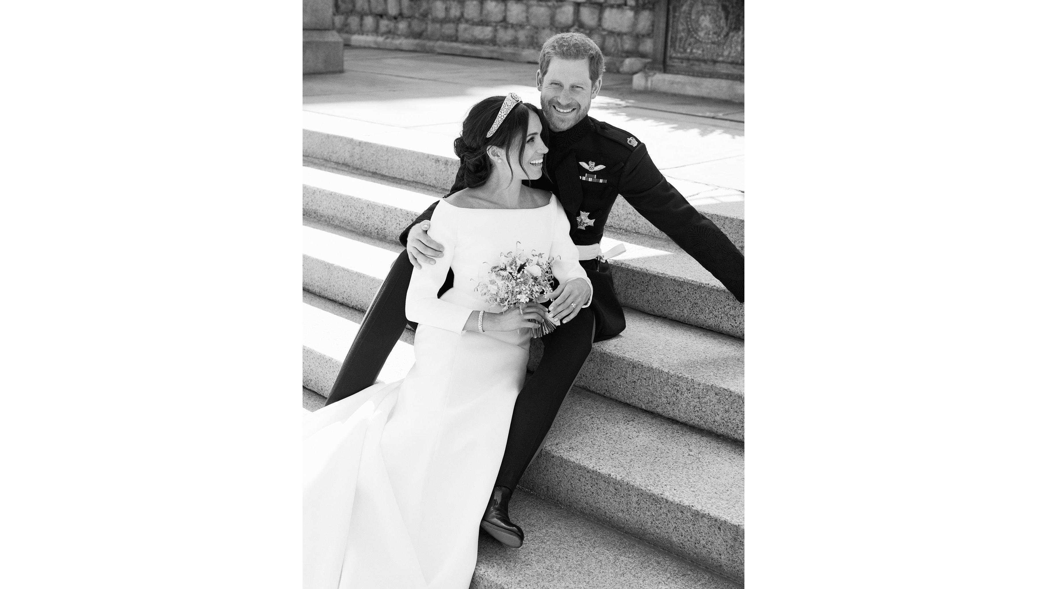 royal wedding harry and meghan release official photos cnn style