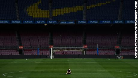 Having graced the pitch for 22 years, Iniesta reportedly remained barefoot in the Nou Camp center circle until 1am.