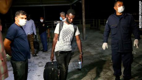 Dozens of African migrants rescued in Brazil after 35 days at sea