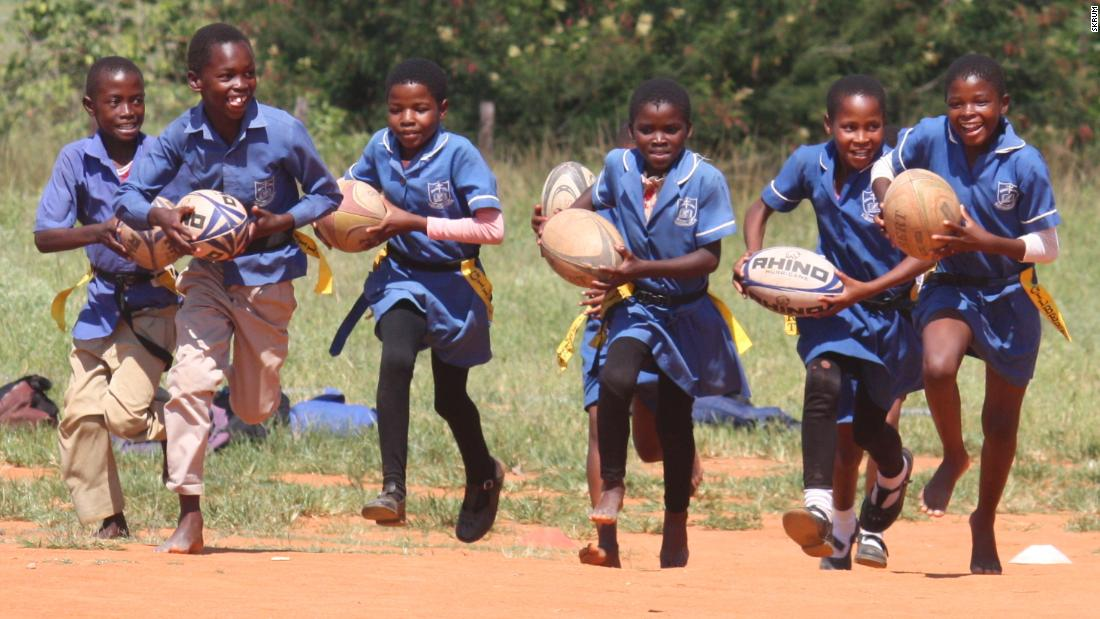 The charity has visited 650 of Swaziland's 817 schools in the past 10 years.