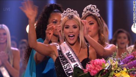 The new Miss USA is ...