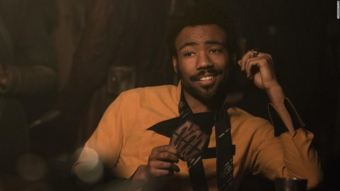 Image result for Donald Glover Lando Calrissian
