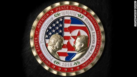 Coins marking the North Korean summit hit a bump and sparked a few jokes with the meeting's demise.