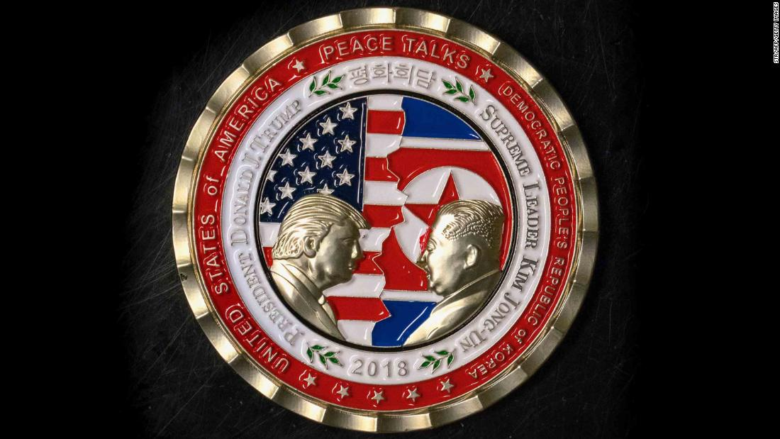 Never mind the North Korea summit. What happened to the commemorative coin?