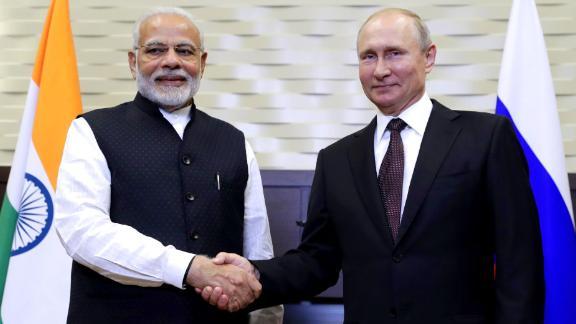 SOCHI, RUSSIA - MAY 21, 2018: India
