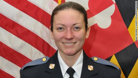 Officer Amy Caprio had worked for the Baltimore County police for nearly four years.