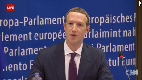 Mark Zuckerberg failed to address European concerns about Facebook