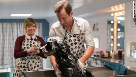 "Natasha Lyonne and Will Arnett star in ""Show Dogs."""