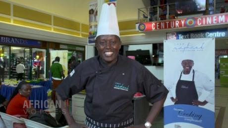 African Voices celebrity Chef Raphael Kenya B_00004725