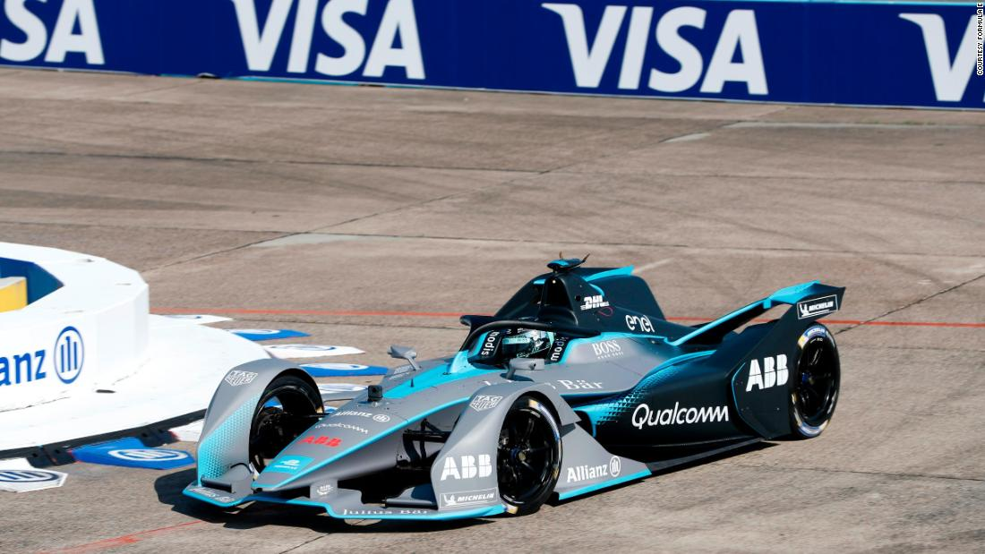 "Formula E says the Gen2 car ""boasts a futuristic new-look for Formula E, but also shows a clear jump in performance over a race distance and almost double the engine storage capacity."""