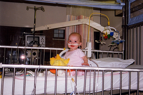 Claire was born with cystic fibrosis and has spent a quarter of her life in the hospital. (Family Photo)