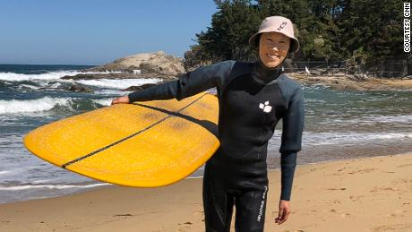 'Surf's up!' from the     38th parallel