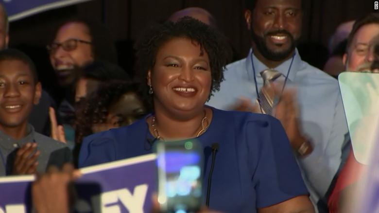 Watch Stacey Abrams' victory speech