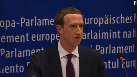 "Samuel Burke looklives ""Zuckerberg's testimony in Brussels"""