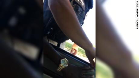 "Rudy Samuel was pulled over by Winfield police on May 13. Samuel streamed the incident over Facebook Live. During the encounter, one officer told Samuel he noticed ""vegetation"" in the window, which was the cause for pulling him over. Samuel responded that it was ""tree stuff"" and refused to exit the vehicle, leading officers to pull him out of the car and handcuff him while they searched the car, according to Samuel's spokesperson Peter Wright."