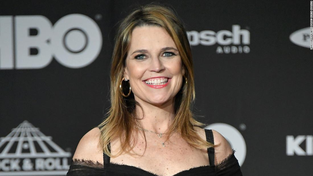 Savannah Guthrie To Undergo Cataract Surgery After Eye Injury Cnn
