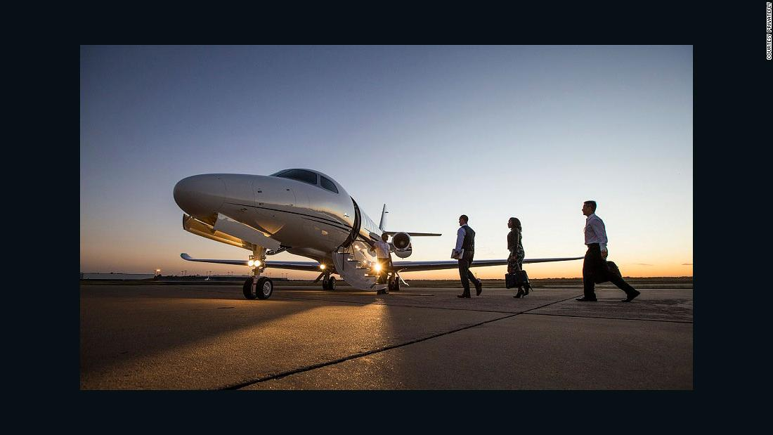 Hiring a private jet is easier than you think
