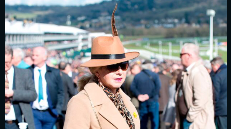 Victoria Smith, pictured at the races, returned to the saddle may not just be a one-off