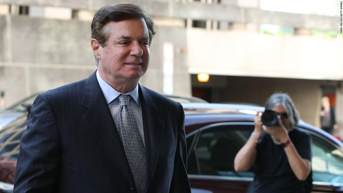 Judge sends Manafort to jail, pending trial
