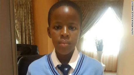 South African school boy Katlego Marite, 13, was snatched by a gang while playing with his friends in the eastern province of Mpumalanga on May 20, 2018. The kidnappers are demanding ransom be paid in bitcoin.