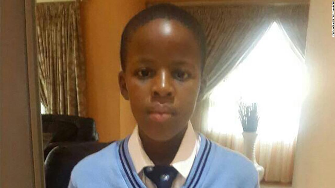 Kidnappers snatch a 13-year-old South African boy and demand