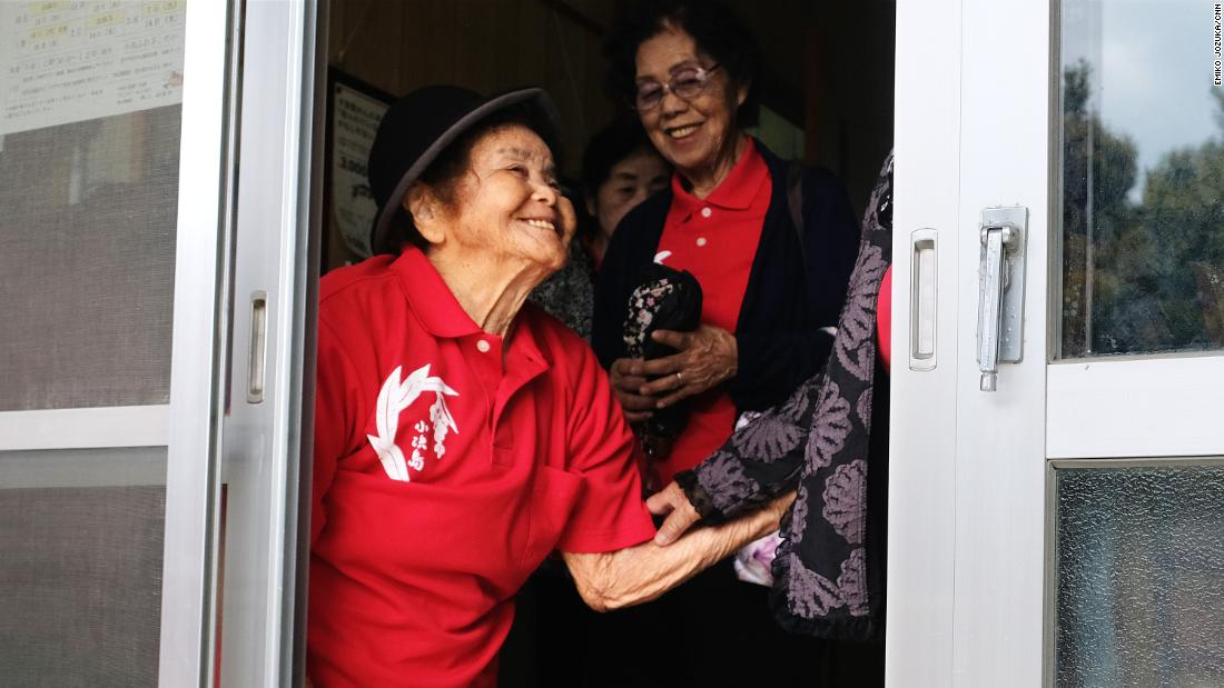 The elderly residents of Kohama island, a plane ride and then a ferry ride from Okinawa, say they value living life to the full.