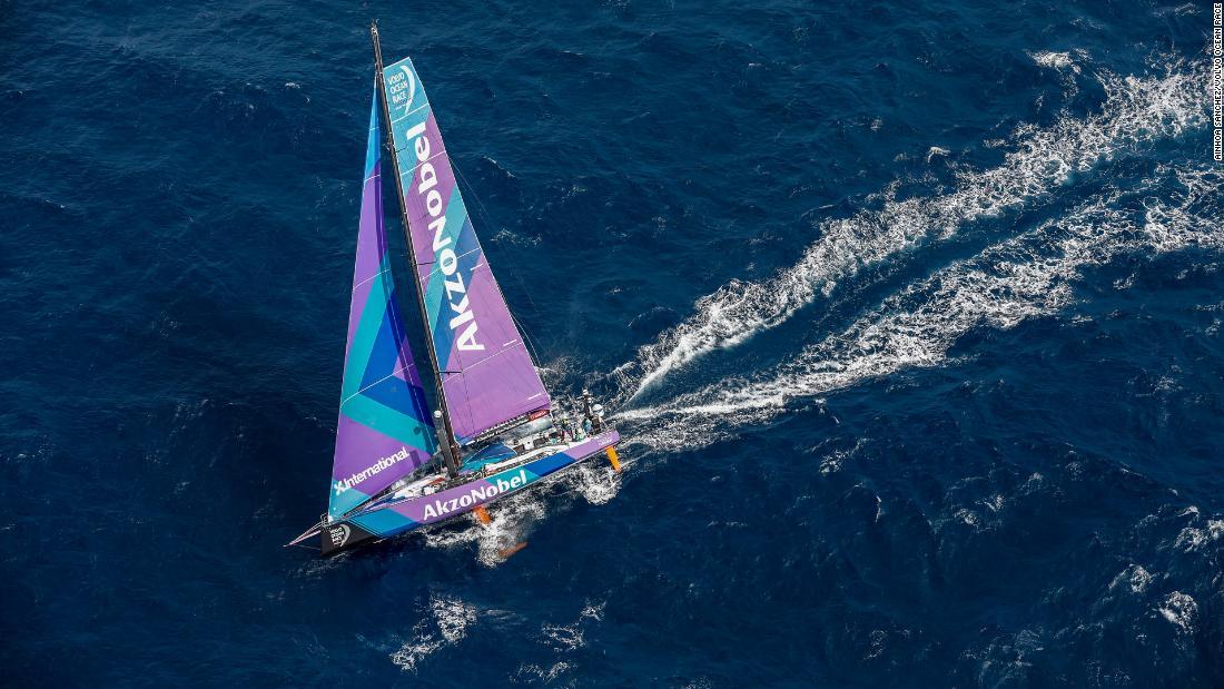 964d873a6 Volvo Ocean Race: Sailor sacrifices sleep for science - CNN