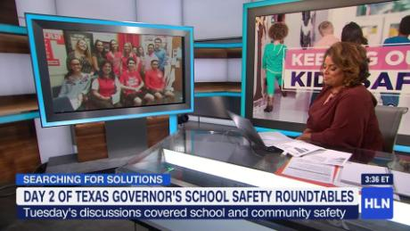 Texas educators speak out at roundtable on keeping kids safe in school_00011725