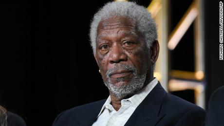 Morgan Freeman at an event in California in 2016.