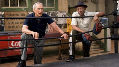 "Morgan Freeman won an Academy Award for Best Supporting Actor for ""Million Dollar Baby."""