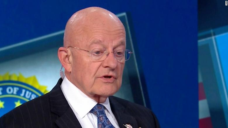 Clapper: Russia swayed election for Trump